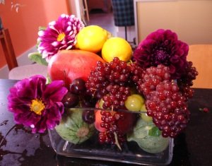 gg fruit centerpiece