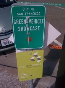 green vehicles sf
