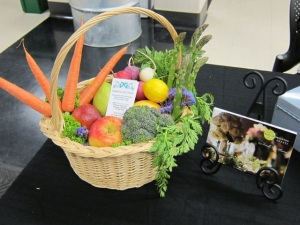 Gorgeous and Green's edible baskets for Vegan Earth Day